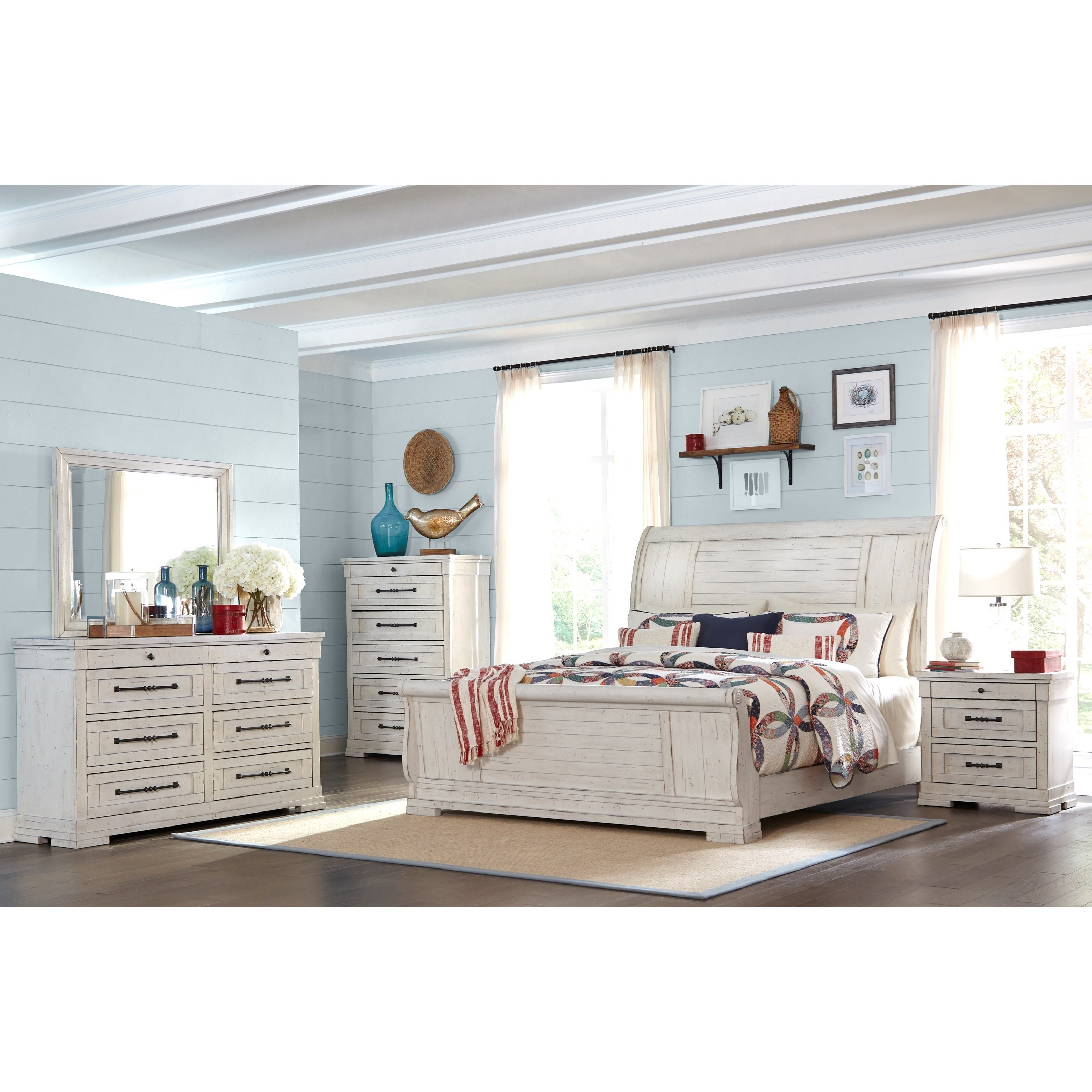 Trisha Yearwood Home Collection By Klaussner Coming Home King Bedroom Group Sam Levitz Furniture Bedroom Groups