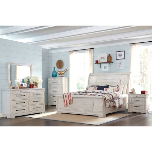 Trisha Yearwood Home Collection by Klaussner Coming Home Queen Bedroom Group