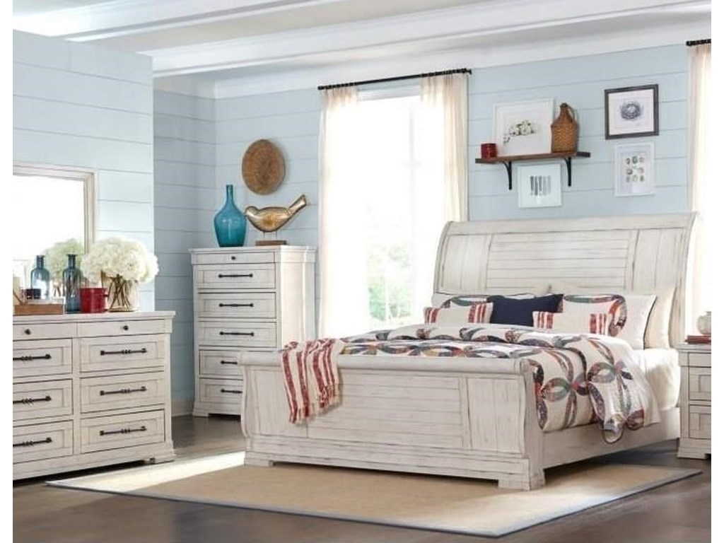 Trisha Yearwood Home Collection by Klaussner Coming HomeQueen 5 Piece Bedroom Group