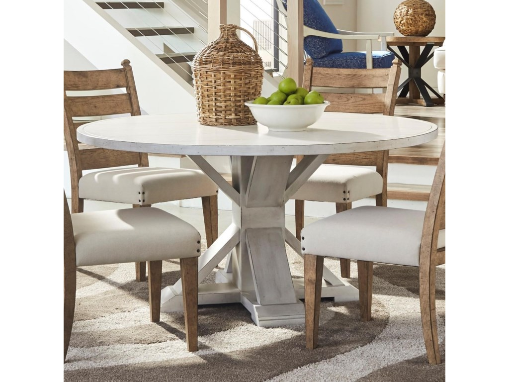Trisha Yearwood Home Collection By Klaussner Coming Get Together Dining Table With One Leaf