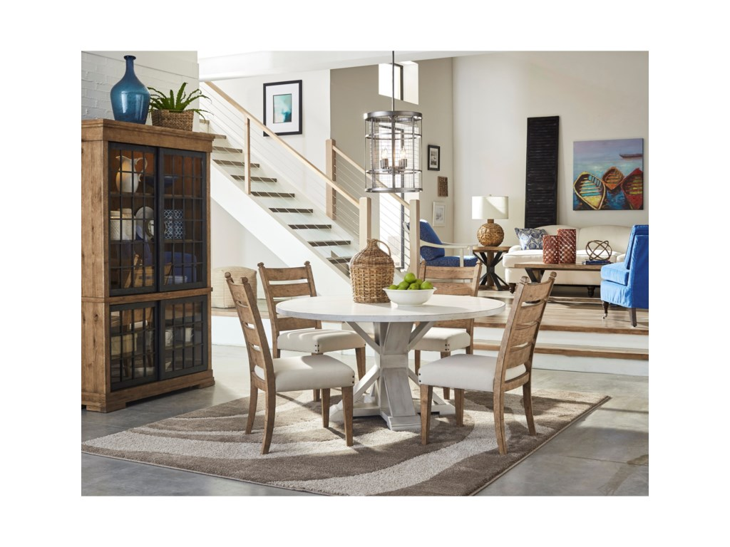 Trisha Yearwood Home Collection by Klaussner Coming HomeGet Together Dining Table