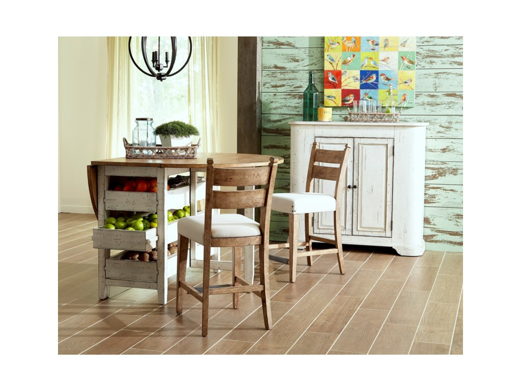 Trisha Yearwood Home Collection by Klaussner Coming HomeNeighbors Dining Table