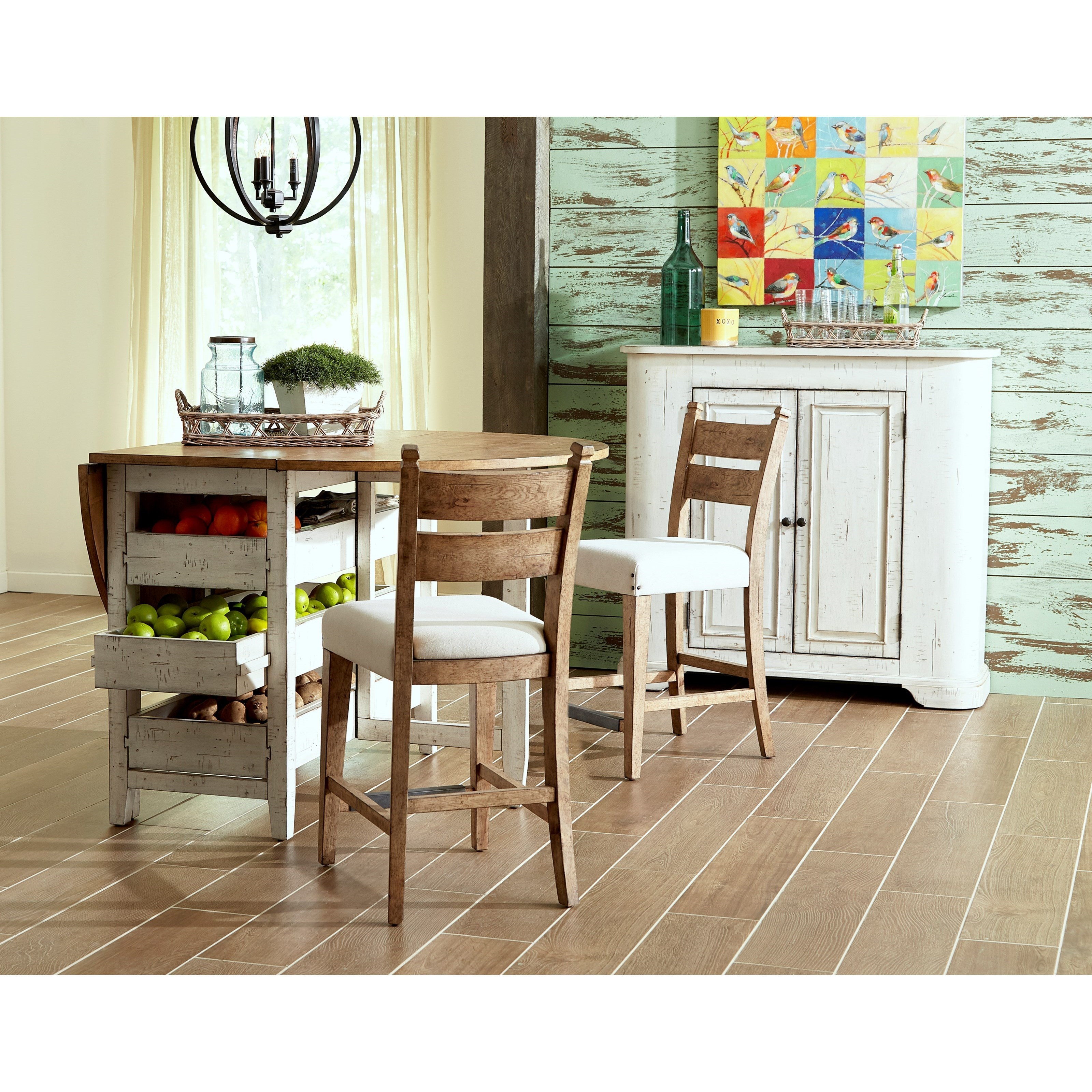... Trisha Yearwood Home Collection By Klaussner Coming HomeNeighbors Dining  Table ...