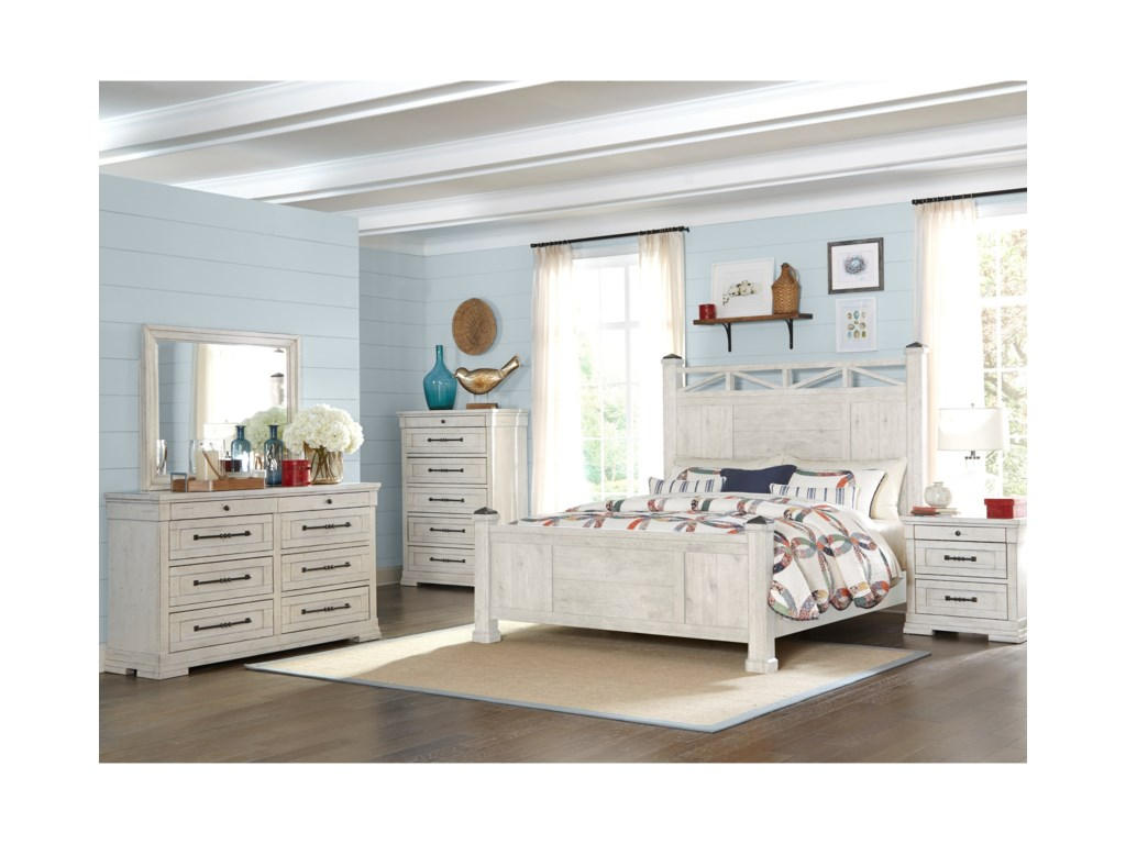 Trisha Yearwood Home Collection by Klaussner Coming HomeSweet Dreams Queen Bed