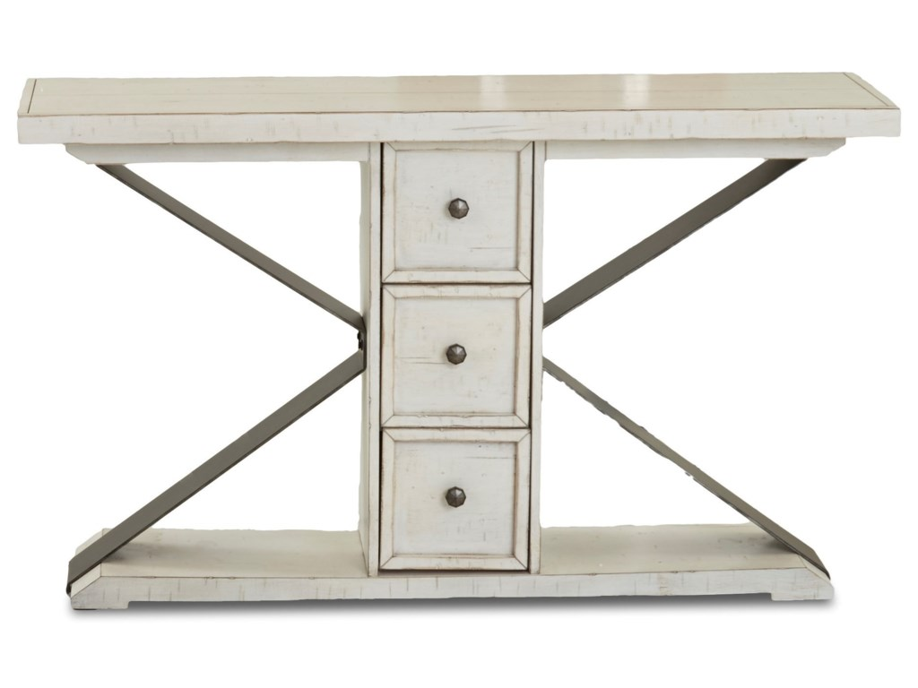 Trisha Yearwood Home Collection by Klaussner Coming HomeFriendship Sofa Table