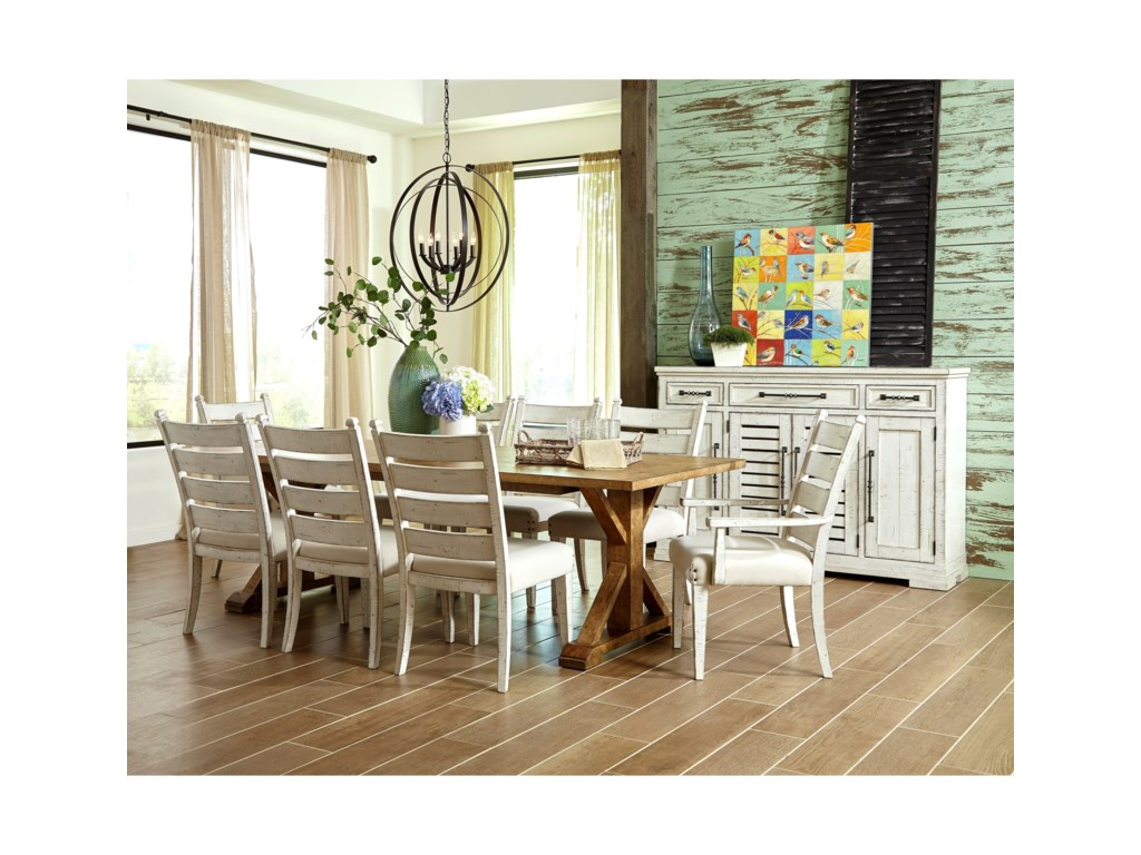 Coming Home Ten Piece Formal Dining Room Group By Trisha Yearwood Home Collection By Klaussner At Pilgrim Furniture City