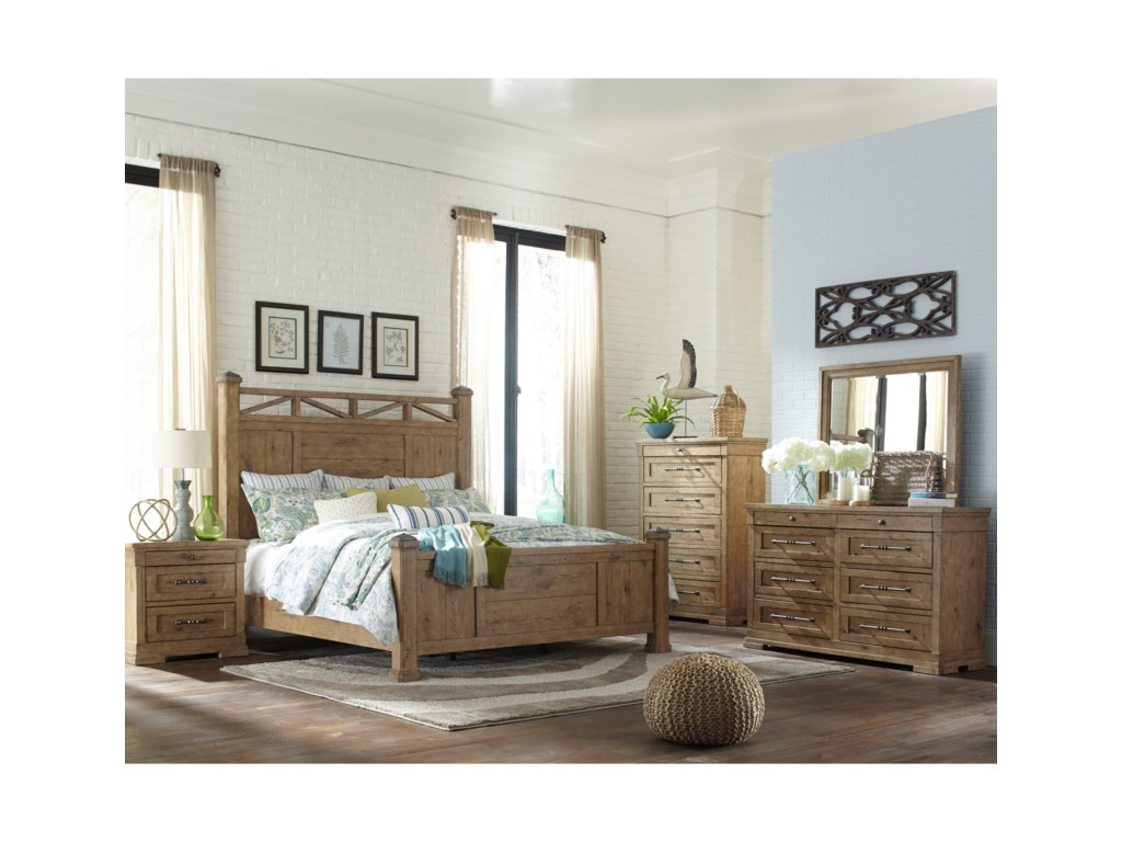 Trisha Yearwood Home Collection by Klaussner Coming HomeDresser & Mirror Set