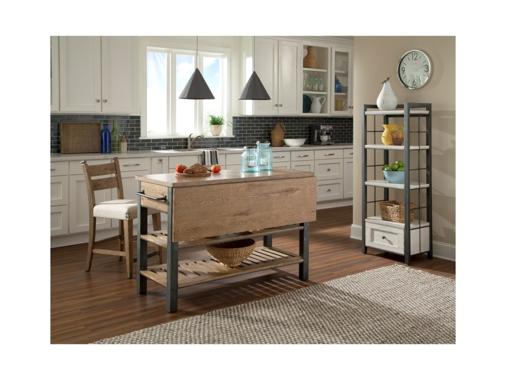 Trisha Yearwood Home Collection by Klaussner Coming HomeReunion Kitchen Island
