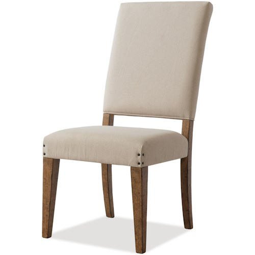 Trisha Yearwood Home Collection by Klaussner Coming Home Good Company Upholstered Side Chair