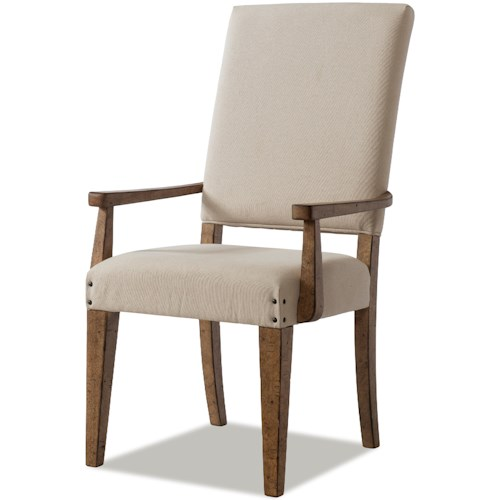 Trisha Yearwood Home Collection by Klaussner Coming Home Good Company Upholstered Arm Chair