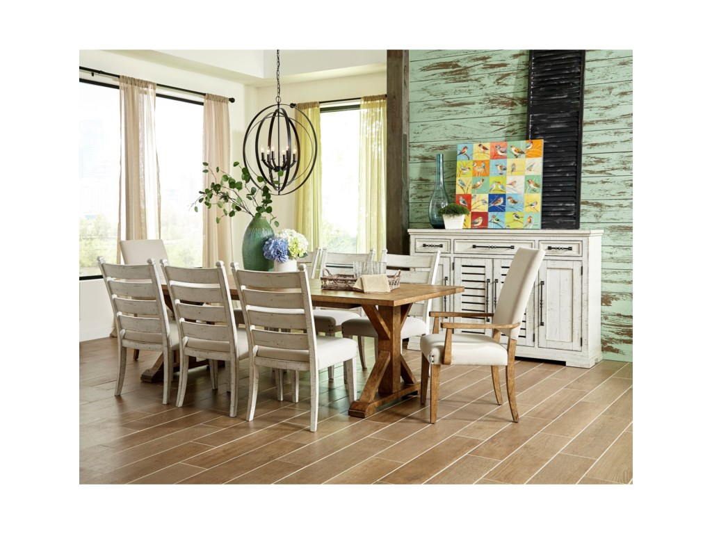 Trisha Yearwood Home Collection by Klaussner Coming HomeGood Company Arm Chair