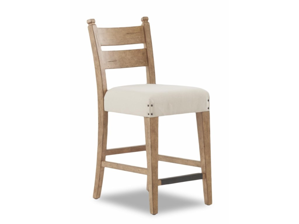 Trisha Yearwood Home Collection by Klaussner Coming HomeDining Table & 4 Pub Height Chairs