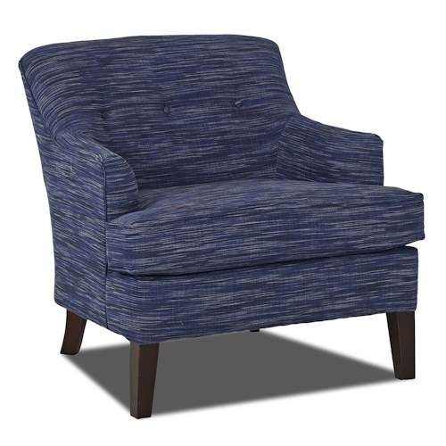 Trisha Yearwood Home Collection by Klaussner Elizabeth Traditional Occasional Chair