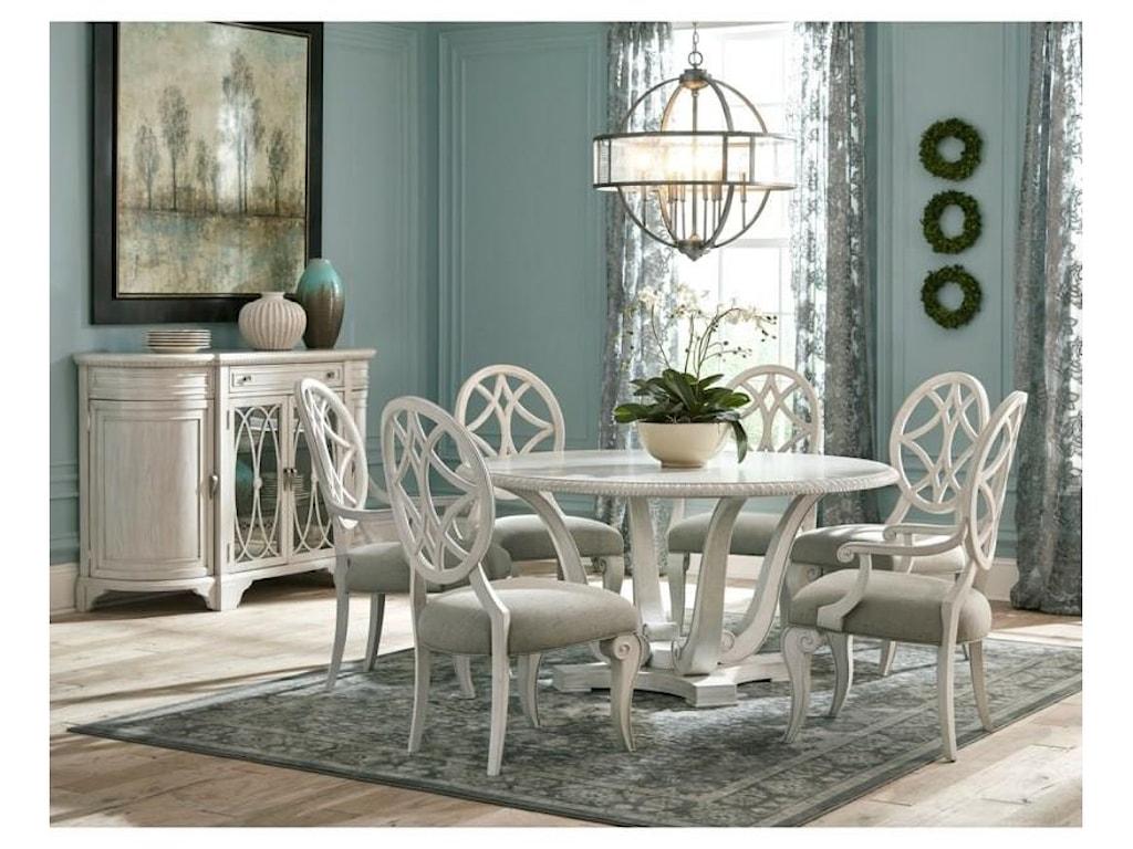 Jasper County 8 PC Dining Room Set