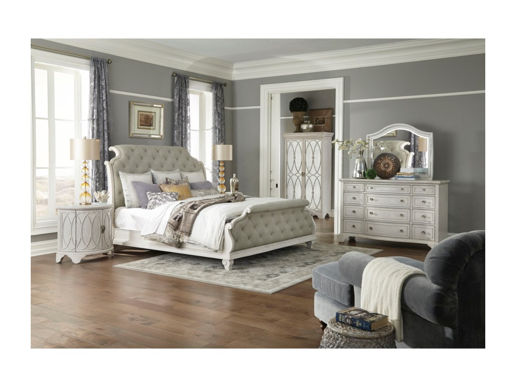 Trisha Yearwood Home Collection by Klaussner Jasper CountyQueen Bedroom Group