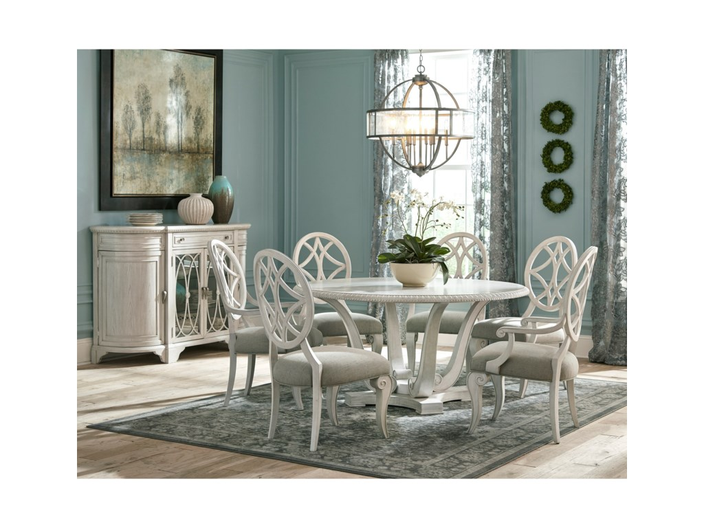 Trisha Yearwood Home Collection by Klaussner Jasper CountyDogwood Dining Room Table