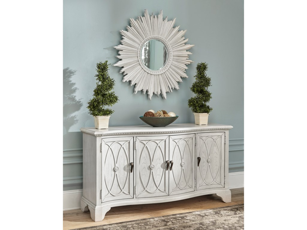 Trisha Yearwood Home Collection by Klaussner Jasper CountyLanier TV Console
