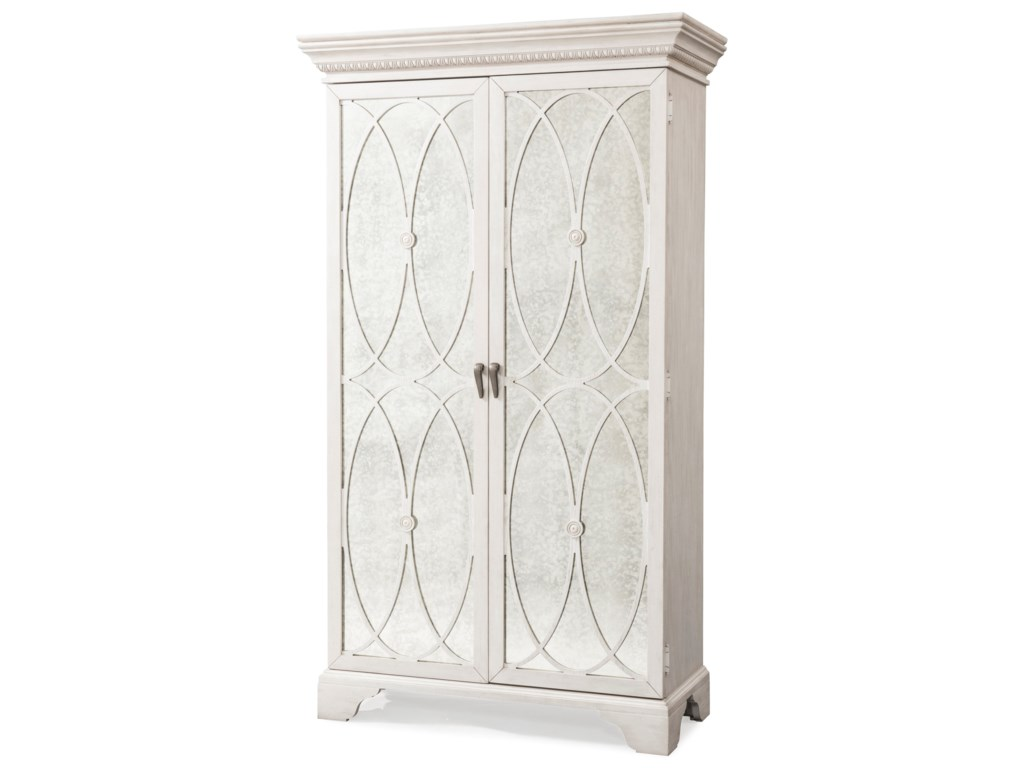 Trisha Yearwood Home Collection by Klaussner Jasper CountyMadison TV Armoire