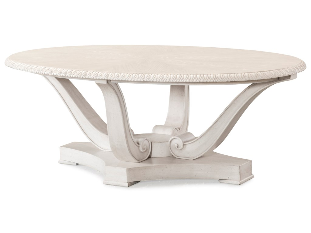 Trisha Yearwood Home Collection by Klaussner Jasper CountyNewton Cocktail Table