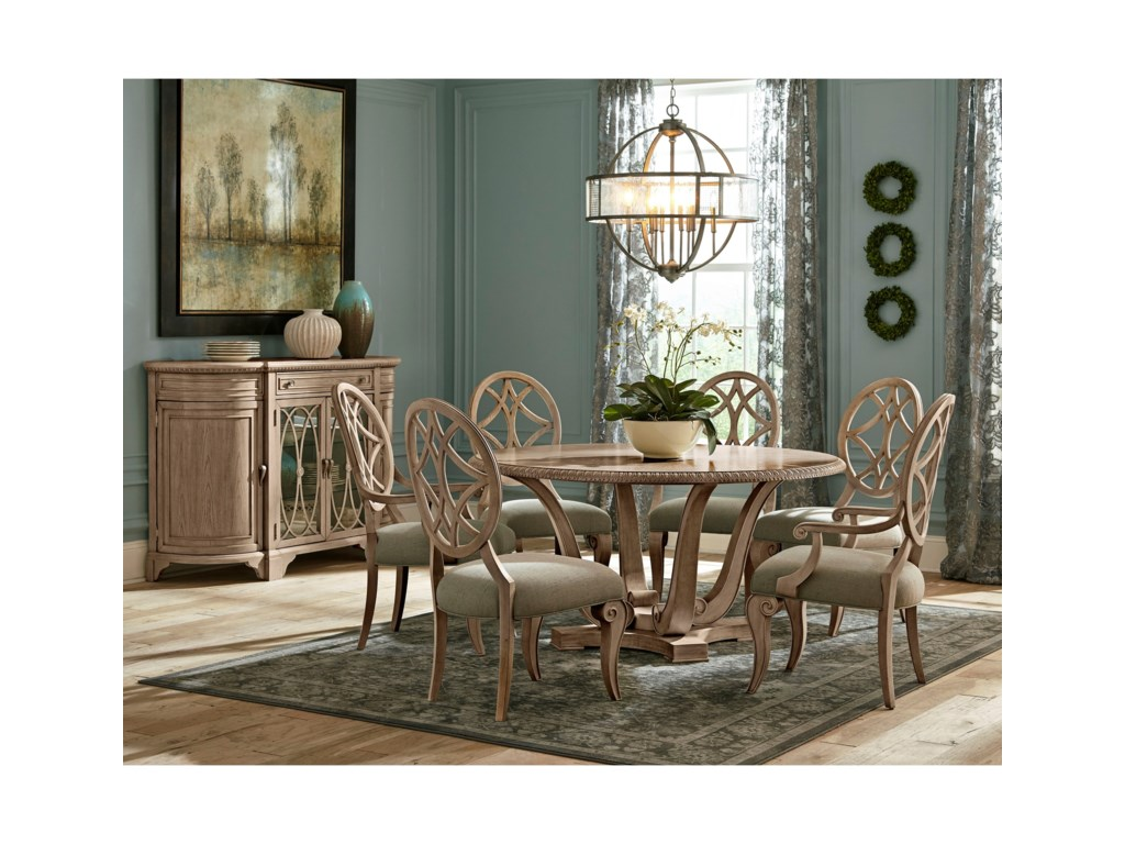Jasper County Formal Dining Group By Trisha Yearwood Home Collection By Klaussner At Furniture Barn