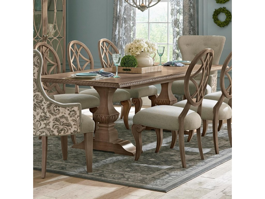 Trisha Yearwood Home Collection By Klaussner Jasper CountyTillman Dining Room Table