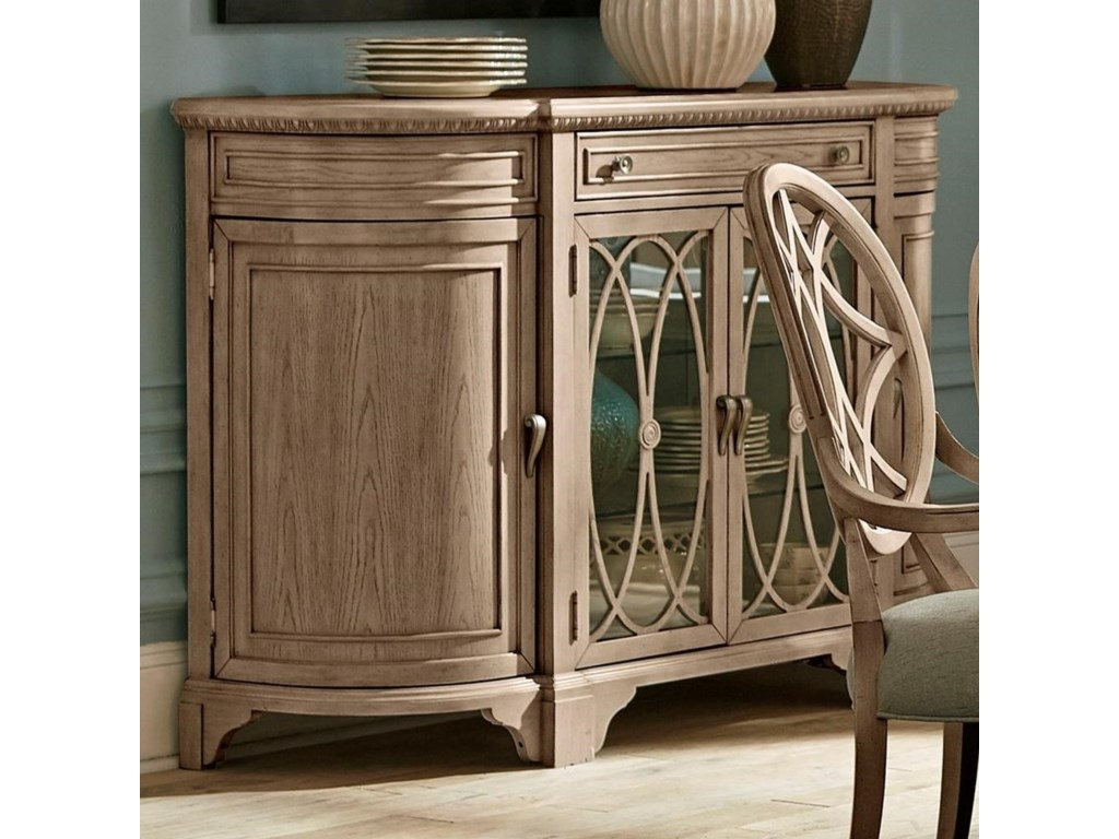 Trisha Yearwood Home Collection by Klaussner Jasper CountyOzburn Dining Room Server