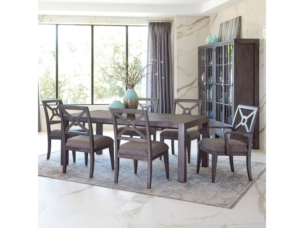 bf3ebab85c0c Trisha Yearwood Home Collection by Klaussner Music City7 Pc Dining Set ...