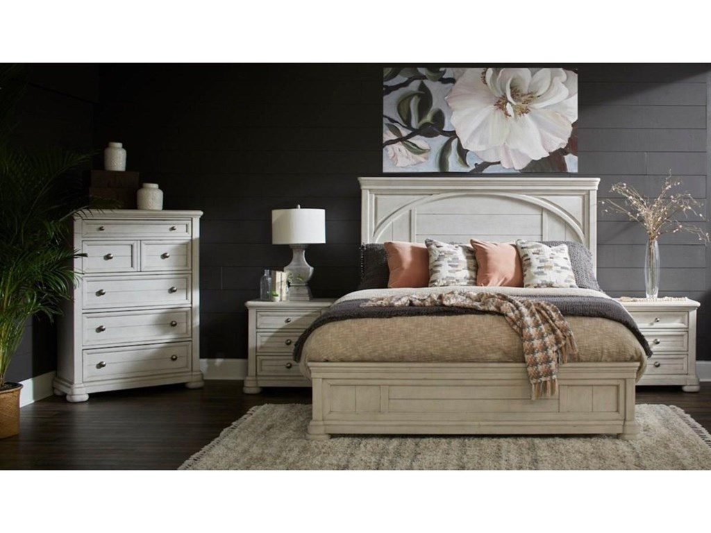 Trisha Yearwood Home Collection by Klaussner NashvilleTYB Panel Bed - Queen