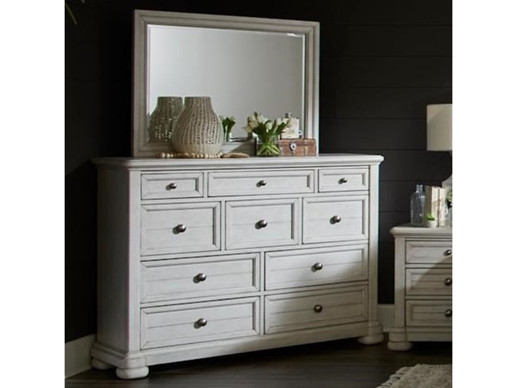 Trisha Yearwood Home Collection by Klaussner NashvilleDresser + Mirror Set