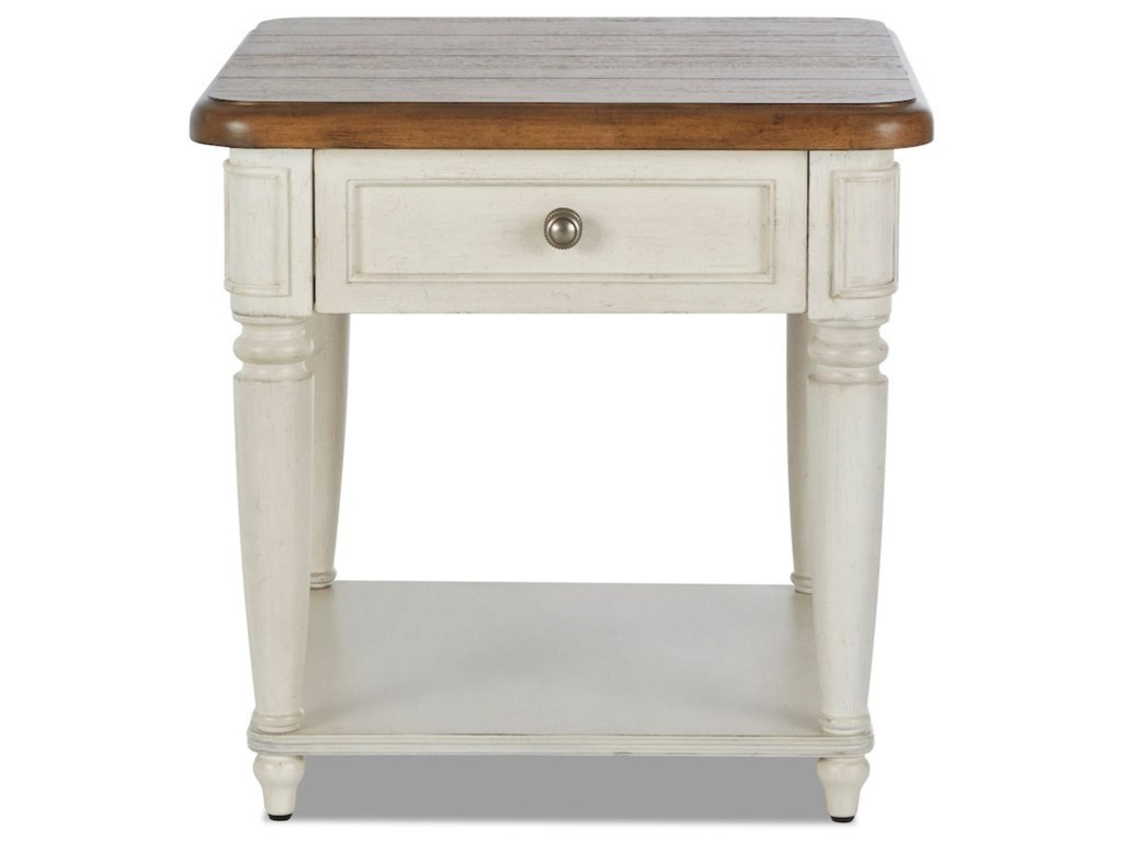 Trisha Yearwood Home Collection by Klaussner NashvilleEncore End Table