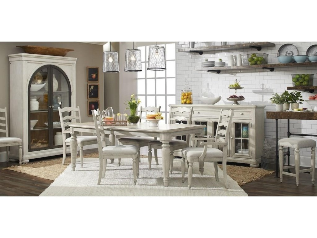 Trisha Yearwood Home Collection by Klaussner NashvilleConcord Ladderback Side Chair