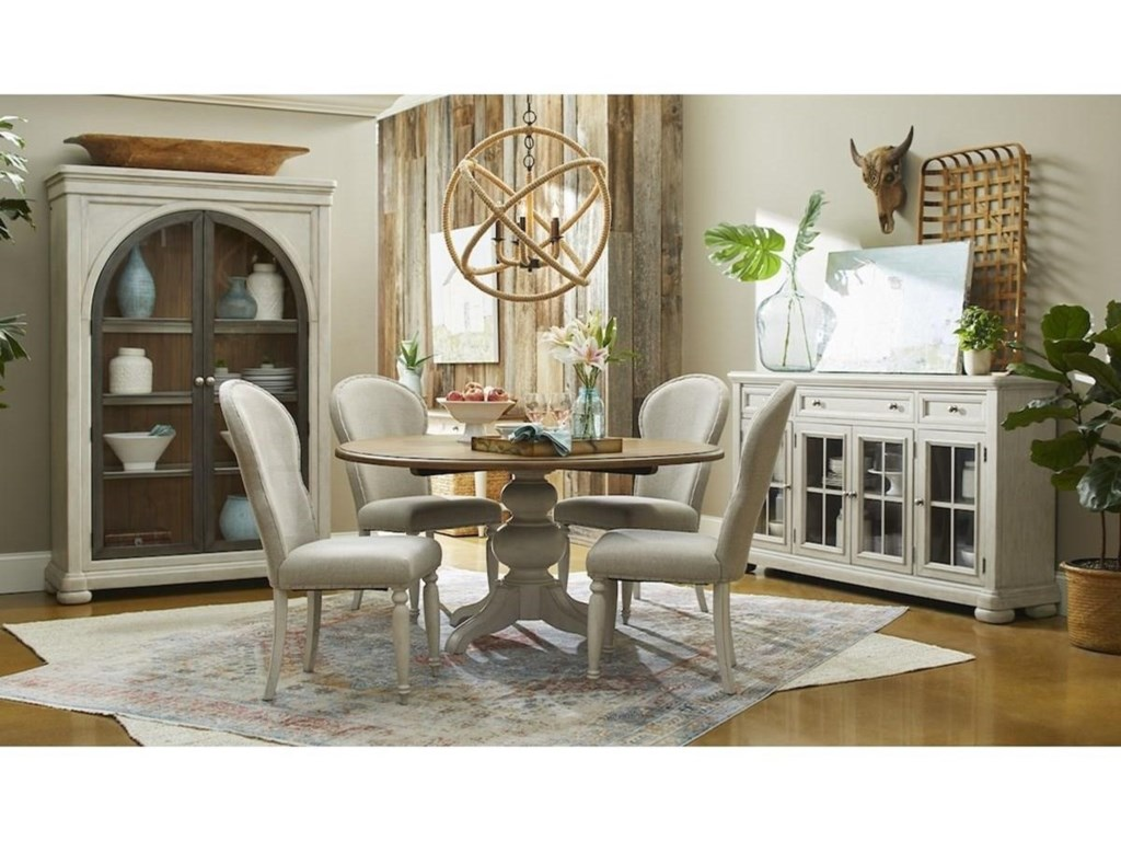 Trisha Yearwood Home Collection by Klaussner NashvilleChurch Street Uph Side Chair