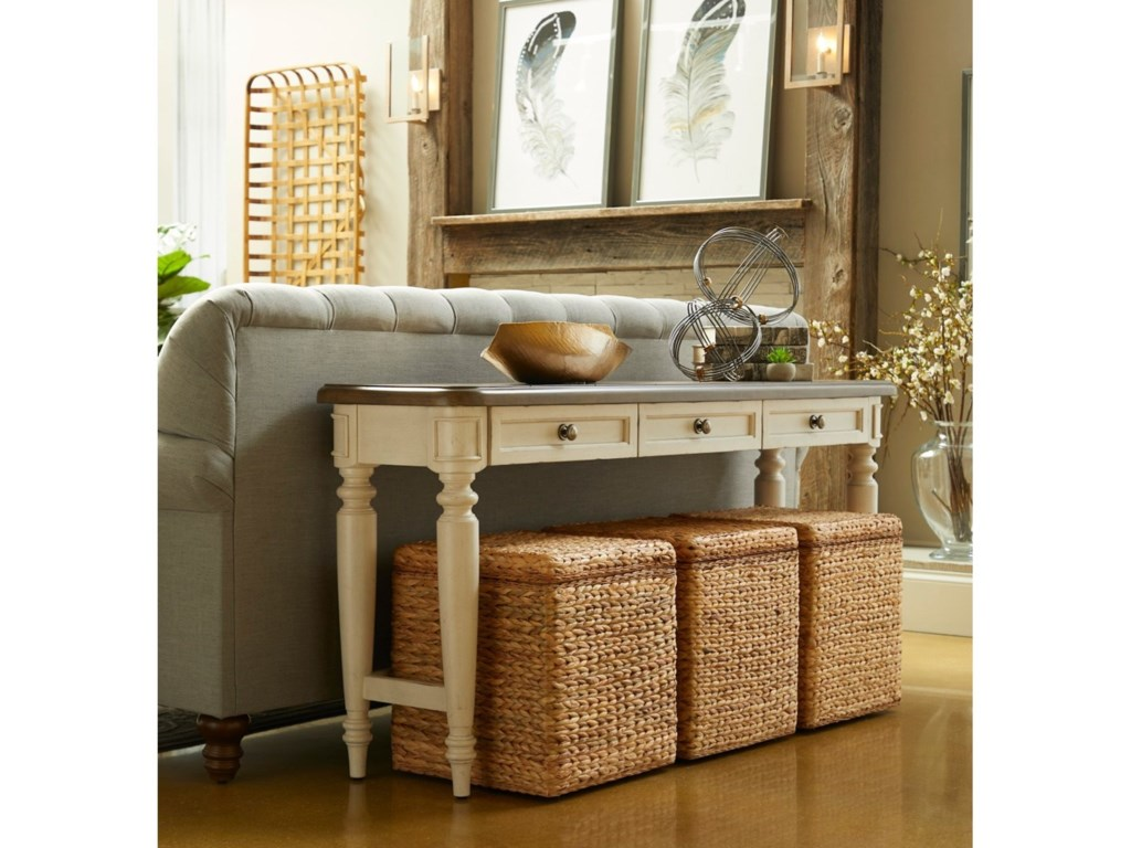Trisha Yearwood Home Collection by Klaussner NashvilleBlock Party Rolling Cube