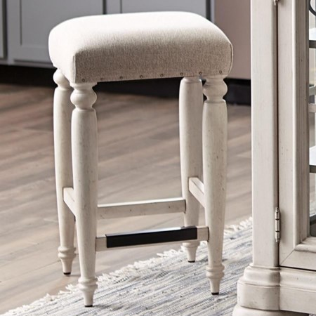 Douglas Corner Counter Height Stool