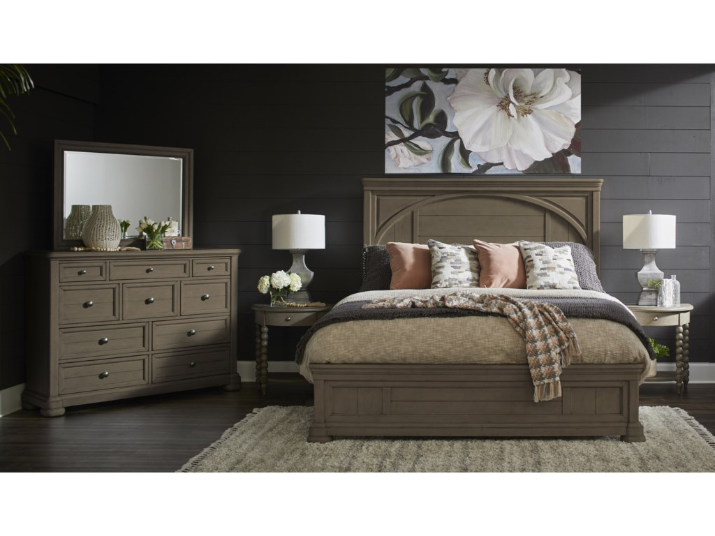 Trisha Yearwood Home Collection by Klaussner NashvilleKing Bedroom Group