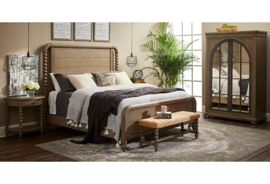 Trisha Yearwood Home Collection by Klaussner Nashville King ...