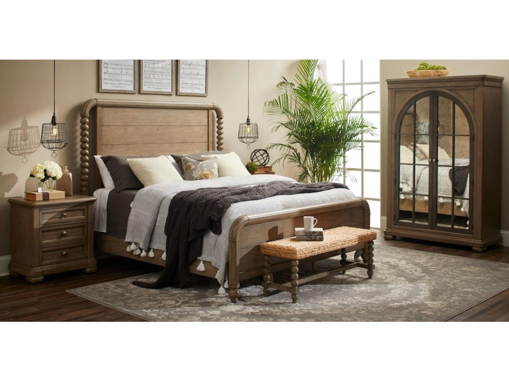 Trisha Yearwood Home Collection by Klaussner NashvilleKing Bedroom Group