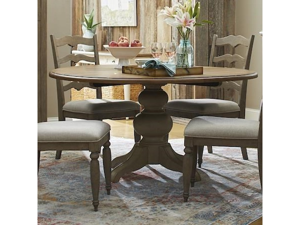Trisha Yearwood Home Collection by Klaussner NashvilleIn The Round Dining Table