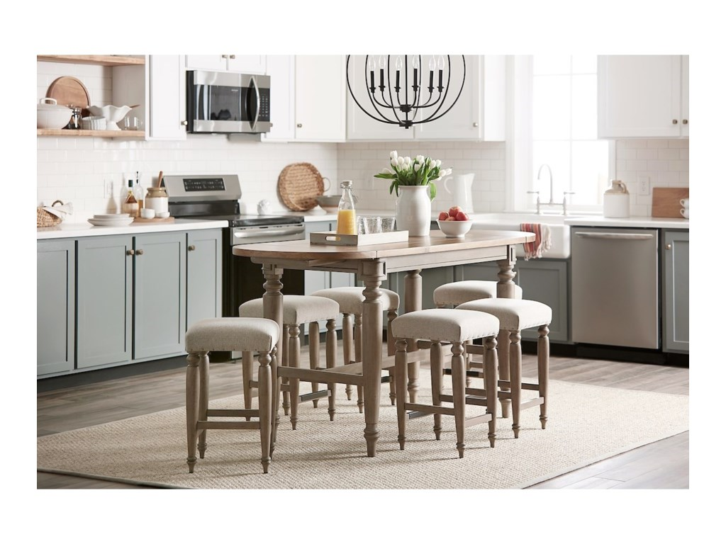 Trisha Yearwood Home Collection by Klaussner NashvilleAllentown Dining Room Table