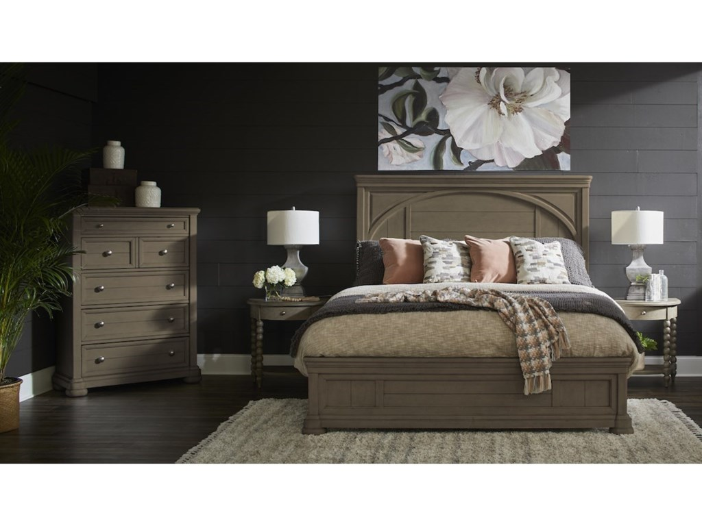 Trisha Yearwood Home Collection by Klaussner NashvilleTYB Panel Bed - King