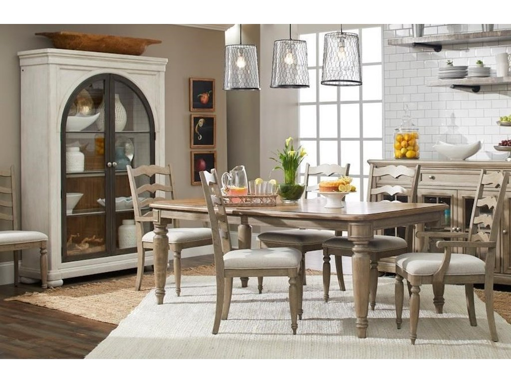 Trisha Yearwood Home Collection by Klaussner Nashville7-Piece Dining Set
