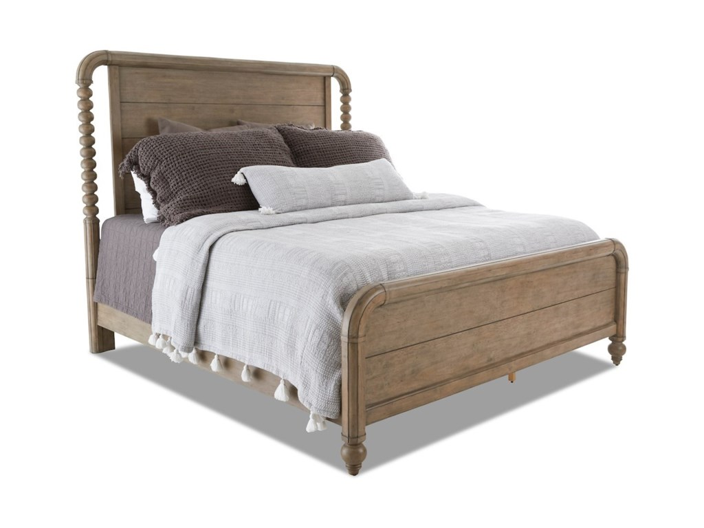 Nashville GB Vintage Farmhouse Queen Panel Bed by Trisha Yearwood Home  Collection by Klaussner at Wayside Furniture