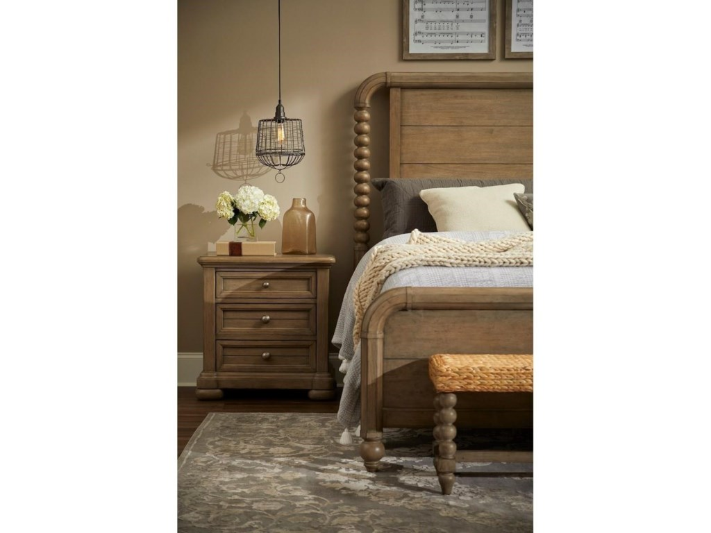 Trisha Yearwood Home Collection by Klaussner NashvilleGB Panel Bed - King