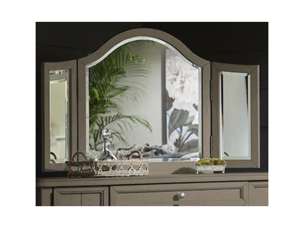 Trisha Yearwood Home Collection by Klaussner NashvilleBroadway Vanity Mirror