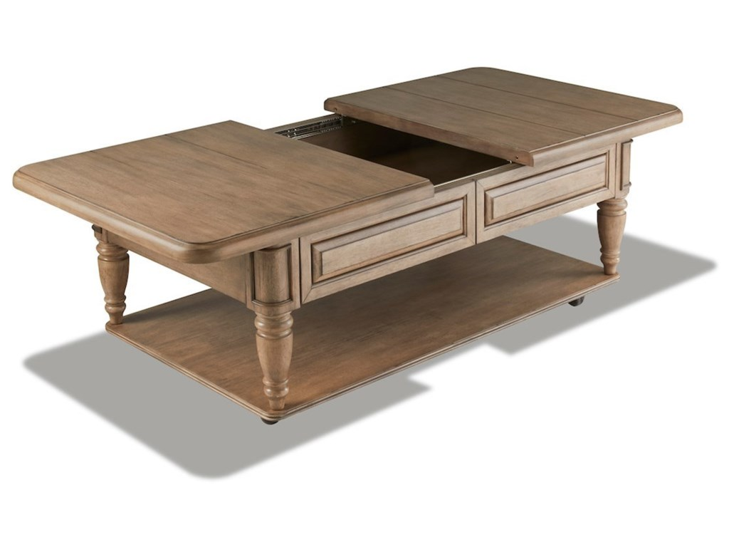 Trisha Yearwood Home Collection by Klaussner NashvilleTootsie's Cocktail Table