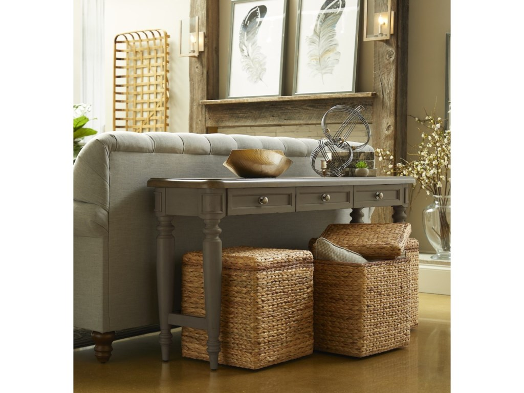 Trisha Yearwood Home Collection by Klaussner NashvilleBelmont Sofa Table