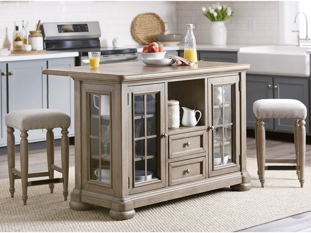Trisha Yearwood Home Collection by Klaussner Nashville3-Piece Dining Set
