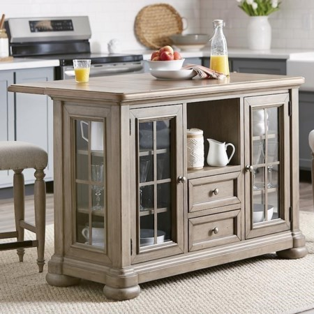 Trisha's Kitchen Island