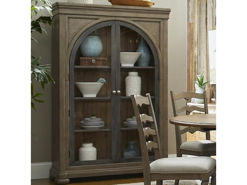 Trisha Yearwood Home Collection by Klaussner NashvilleHall of Fame Display Cabinet