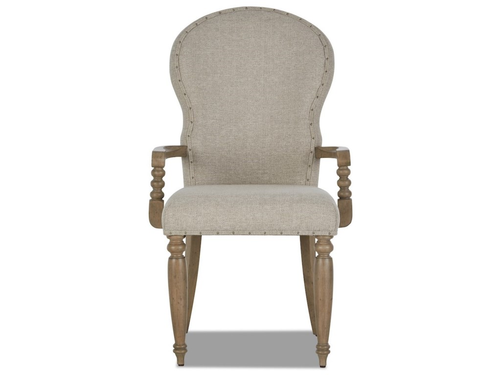 Trisha Yearwood Home Collection by Klaussner NashvilleChurch Street Uph Arm Chair